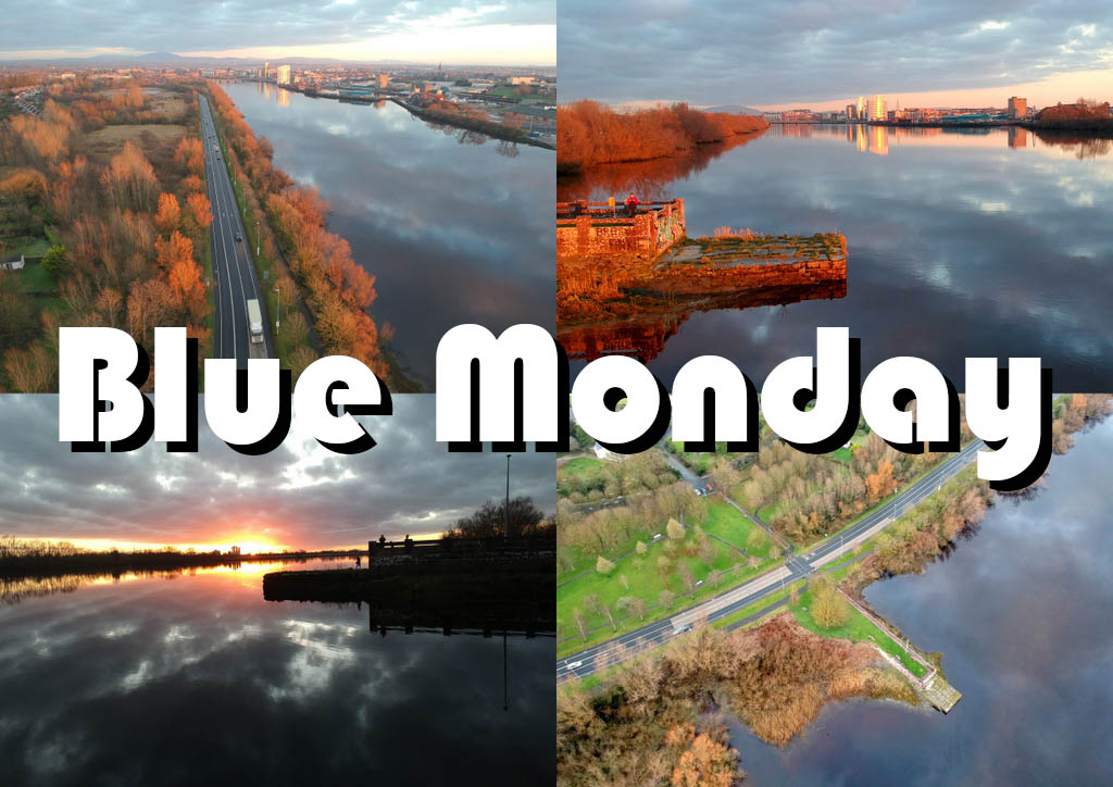 Limerick Blue Monday drone
