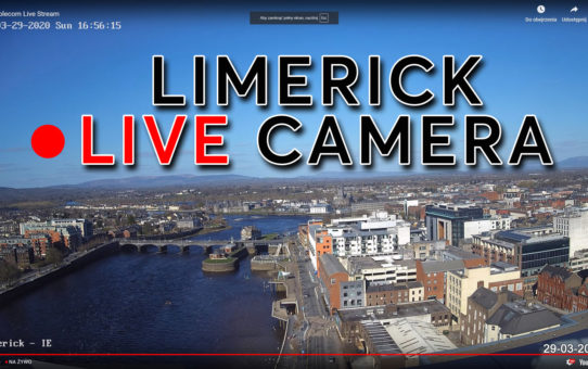 LIMERICK LIVE HD CAMERA FROM RIVERPOINT