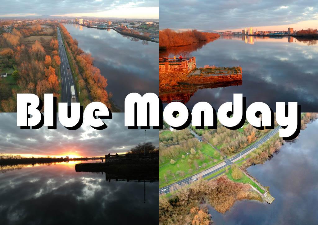 Limerick Blue Monday drone