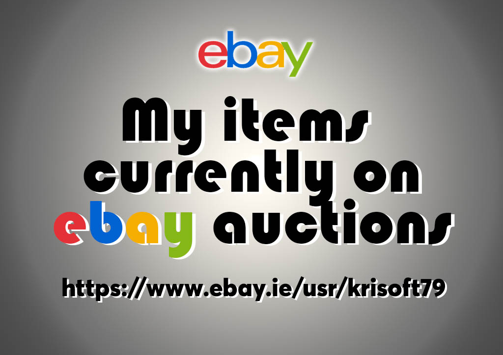 krisoft auctions on ebay