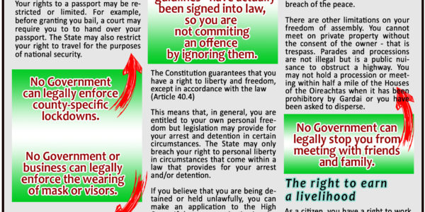 These are your Fundamental Rights – IRISH CONSTITUTION